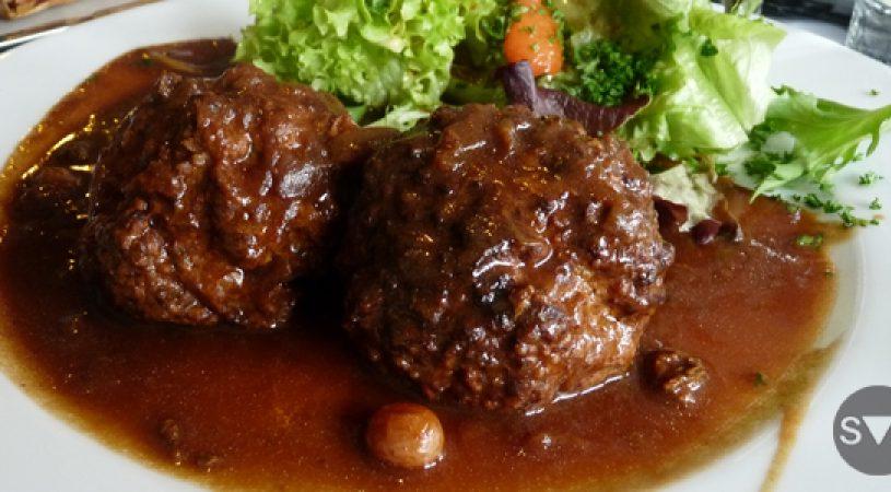 Boulettes sauce liégeoise